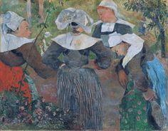 Four Breton Women, 1886  Paul Gauguin