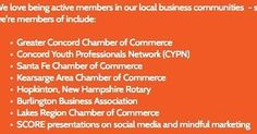 We love being a part of #local community organizations. What clubs groups or teams are you a part of? #getsocial