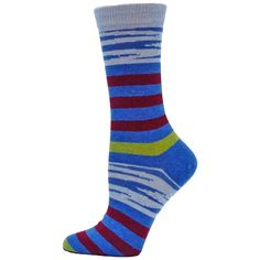 B Ella Feline Womens Cotton Crew Sock | eBay