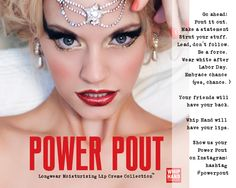 Pin our Power Pout Vol. I Lip Creme Collection image to Pinterest!