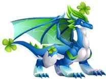 St. Patrick's Day-Clover Dragon from the game Dragon City