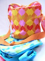 Agatha Ruiz de la Prada Argyle shoulder bag  Perfect for taking your laptop anywhere you need it, cool pattern and colours  £19.99