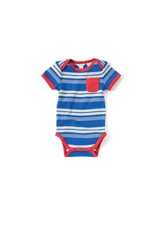 Country Road - Baby Boy's Clothing, Footwear & Accessories Online - Rugged Stripe Bodysuit