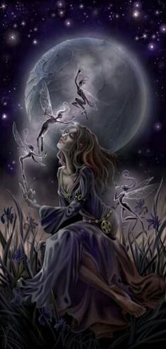 moon fairy - Google Search