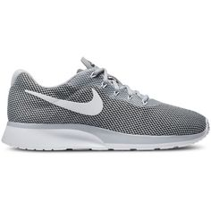 Nike Men's Tanjun Racer Casual Sneakers from Finish Line (190 BRL) ❤ liked on Polyvore featuring men's fashion, men's shoes, men's sneakers, mens sport shoes, mens sports shoes, nike mens shoes, mens sneakers and nike mens sneakers