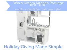 KidKraft Vintage White Kitchen Giveaway