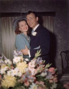 Roy Rogers & Dale Evans: December 31, 1947. They were together until he passed in 1998.