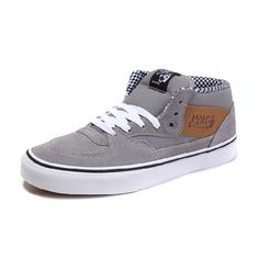VANS HALF CAB WAXED CANVAS FROST GRAY VN-0UC8H18 US$139.00
