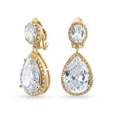Bling Jewelry Gold Plated Cubic Zirconia Teadrop Dangle Clip On Earrings Bling Jewelry http://www.amazon.com/dp/B00H24TER2/ref=cm_sw_r_pi_dp_7YkIub15J8KC1