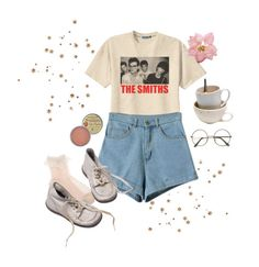 """""""just threw this on"""" by hanna-gilligan ❤ liked on Polyvore featuring Retrò, Rosebud Perfume Co., ZeroUV and Grace"""