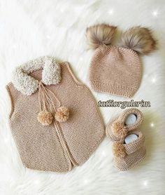 Likes # Records # Broken # 35 # Crochet # Handmade # Flowered # Beaded – cardigan Baby Knitting Patterns, Baby Booties Knitting Pattern, Knitting For Kids, Handmade Baby, Handmade Clothes, Handgemachtes Baby, Crochet Baby Pants, Leather Bag Pattern, Patch