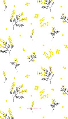 39 trendy Ideas cute screen savers iphone yellow - Best of Wallpapers for Andriod and ios Owsla Wallpaper, Iphone Background Wallpaper, Pastel Wallpaper, Trendy Wallpaper, Yellow Flower Wallpaper, Kate Spade Wallpaper, Iphone Wallpaper Yellow, Yellow Flowers, Cute Wallpaper Backgrounds