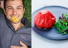 recette tomate confite chef Michel Guérin