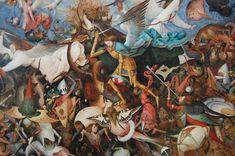 Pierre Bruegel - La Chute des Anges Rebelles - LANKAART