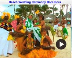 Imagine Your Dream Wedding on the Island of Bora Bora Tahiti in the South Pacific. A beautiful beach wedding in one of the most heavenly places on earth. Completely Legal Married by an Tahitan Priest surrounded by Beautiful Exotic Island Dancers.  Call Mitch Your Destination Wedding Specialist at Island Travel 847-885-7540. See our web sites at www.HoneymoonCruiseShopper.com and at www.RomanticAllInclusiveResorts.com