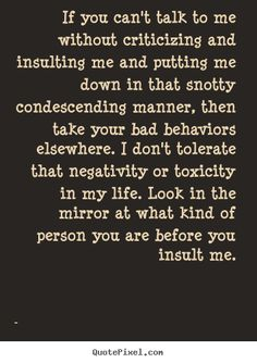Ooohhh yes! Yes! Yes! Self righteous entitled attitudes are awful!!