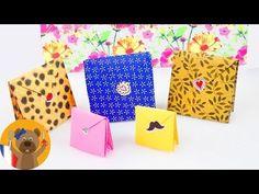 Paquet cadeau en Origami | Super joli & très pratique | Emballage cadeau pour Anniversaires & Noël - YouTube