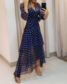 Trend Fashion, Look Fashion, Womens Fashion, 50 Fashion, Fashion Online, Cute Dresses, Beautiful Dresses, Maxi Dresses, Trendy Dresses