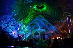 Mind Blowing Psytrance Decor