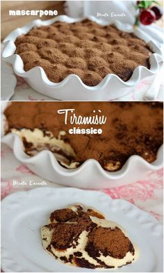 - This delicious Tiramisù recipe will make your mouth water! Tiramisu Trifle, Easy Tiramisu Recipe, Other Recipes, Sweet Recipes, Delicious Desserts, Dessert Recipes, Bread And Butter Pudding, Good Food, Yummy Food