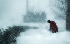 Montreal snow storm : Dec 27th 2012