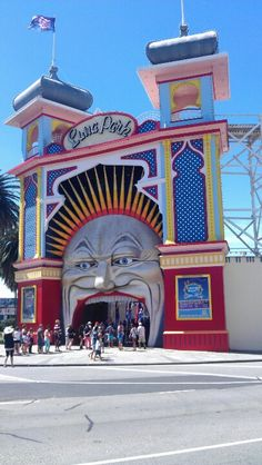 Luna park Melbourne Living In Adelaide, Melbourne Victoria, St Kilda, Mountain Range, South Australia, Amusement Park, Capital City, New Zealand, Country