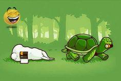 Tortuga vs liebre lol