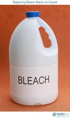 How To Cover Bleach Stains In Carpet Stain Removal