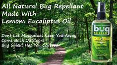 Take Natural Insect Repellent with you next time you are out doors.