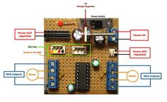 Motor Control with L293D and Arduino Tutorial http://www.instructables.com/id/Control-your-motors-with-L293D-and-Arduino/