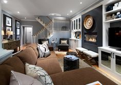 Blue and Gray Candice Olson Bedrooms | Pin Candice Olson Gray Living Rooms Candice Olson Living Room Design ...