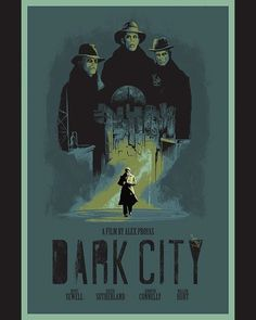 BROTHERTEDD.COM Alex Proyas, Dark City, Comic Movies, Instagram Feed, Comics, Film, Movie Posters, Art, Movie