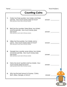 Sentence Correction Worksheets 3rd Grade Excel Money Matching Worksheets  Counting Money Worksheets  Money  Punnett Squares Practice Worksheet Pdf with History Of Halloween Worksheet Excel Being Able To Count Money Is A Great Skill For Any Child To Develop This  Free Printable Worksheet Will Have Your Child Slope Intercept Form Worksheets 8th Grade
