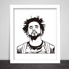 J. Cole Art Poster 3 sizes // Jcole dreamville by BabesnGents