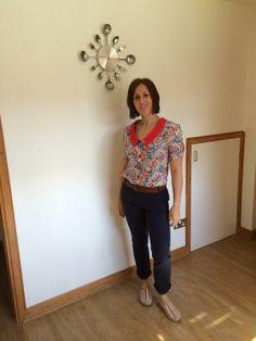 Danielle's Mimi blouse