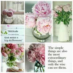 The simple things are also the most extraordinary things. Moodboard byJeetje♡
