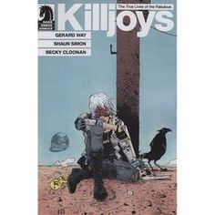 The True Lives of the Fabulous Killjoys #1 (Paul Pope Phantom variant cover) [Click link to order]