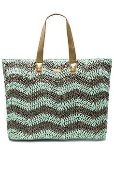 OndadeMar Tote Bag in Mint & Grey   REVOLVE