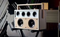 The Jammy! A Funky-Fresh Boombox | Cool Material