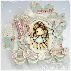 Magnolia cards by Debbie: Sweet 16♥
