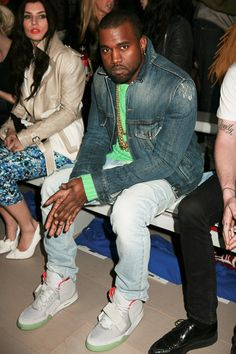 Kanye West was recently spotted wearing the Zen Grey version of his globally anticipated Air Yeezy II, produced in collaboration with Nike. With no set release date, aside from a March 2012 rumor, the highly touted kicks have now appeared in black/pink and zen grey colorways, amping up even more anticipation for what