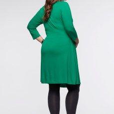 Vestido de malha para gravidez e amamentação7