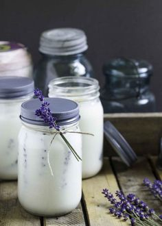 Handmade gift idea #17- Insect Repellant Mason Jar Homemade Candles via Garden Matter at http://AnOregonCottage.com