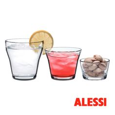 123DL - glass set in crystalline glass ,Harry Koskinen, 2010 #alessihappyhour #alessi #design