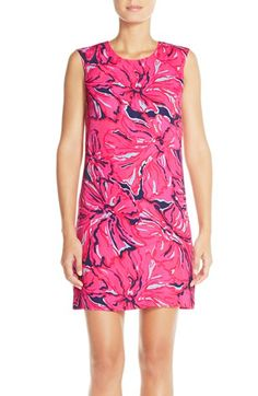 Lilly Pulitzer® 'Iona' Floral Satin Shift Dress available at #Nordstrom