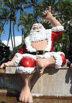 Watching the Honolulu City Lights #Aqua12staysofchristmas