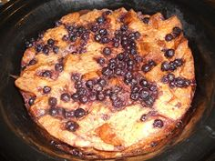 a Latte' with Ott, A: Crock Pot Blueberry French Toast Casserole