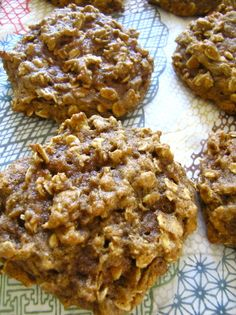 Pumpkin Oatmeal Cookies - Making these now and the batter is SO GOOD! Used coconut oil and only a portion of the vanilla (1 tsp) so I could add orange extract, too (prob a tsp), and added chocolate chips (of course). Can't wait to eat them!