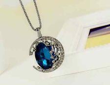 black solar moon necklace - Google Search