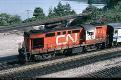 RailPictures.Net Photo: CN 3152 Canadian National Railway MLW RS-18 at Burlington, Ontario, Canada by Donald Haskel